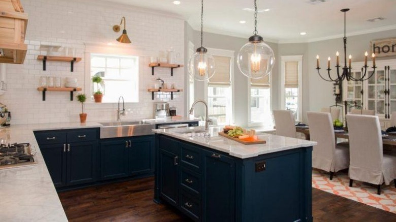 Chip and Joanna Gaines renovated kitchen