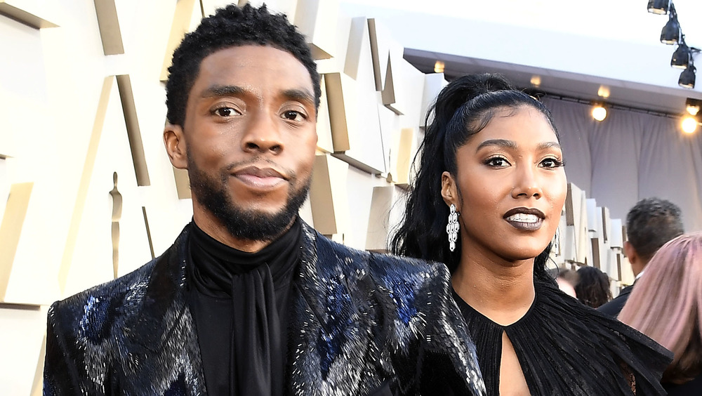 Chadwick Boseman's Wife Simone Accepts Gotham Awards Tribute In His Memory