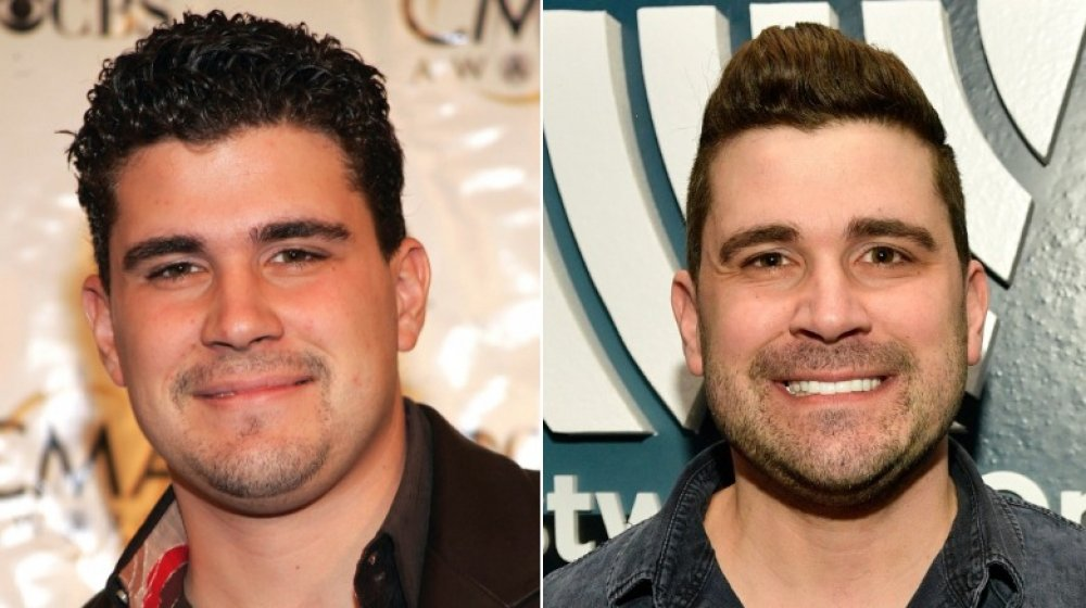 star country Josh Gracin then and now