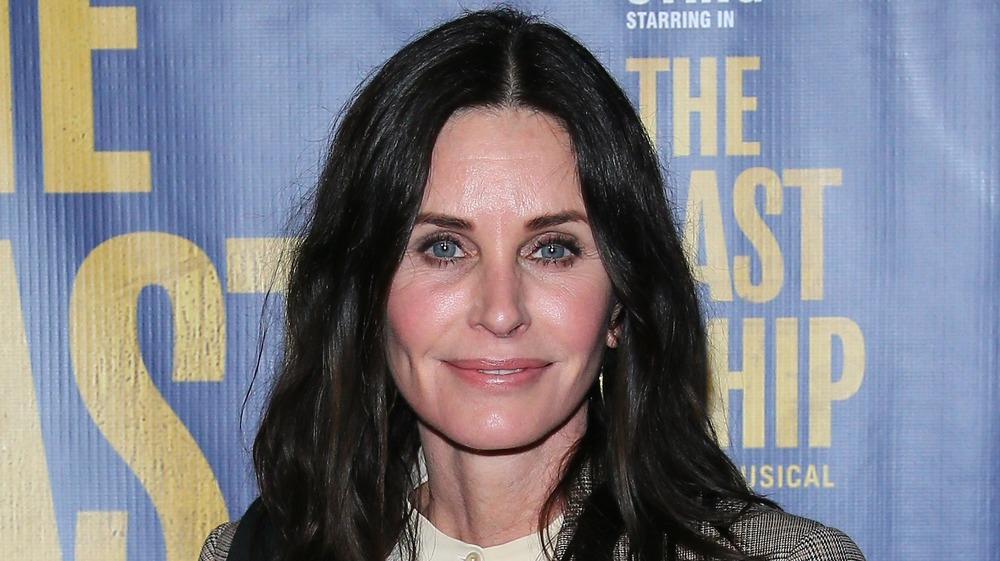 Courteney Cox Shows 'Gross Truth' Of This Friends Scene