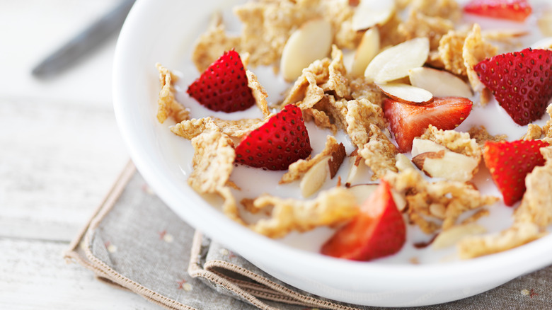 Hacks to make a bowl of cereal more filling healthy hacks to make a bowl of cereal more filling ccuart Choice Image