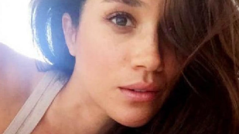 Meghan Markle without makeup