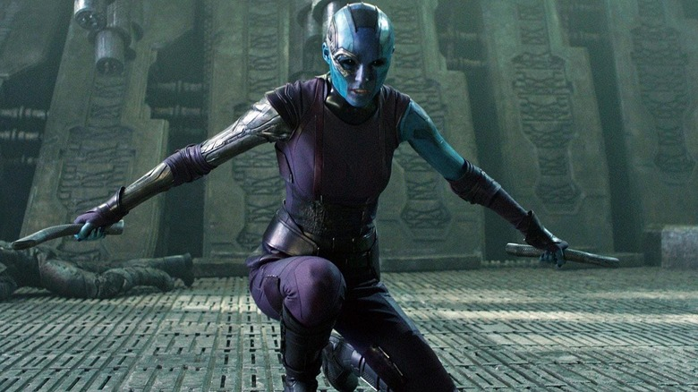 Guardians of the Galaxy Nebula Marvel Avengers MCU Karen Gillan