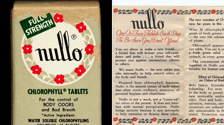 Nullo tablets beauty product