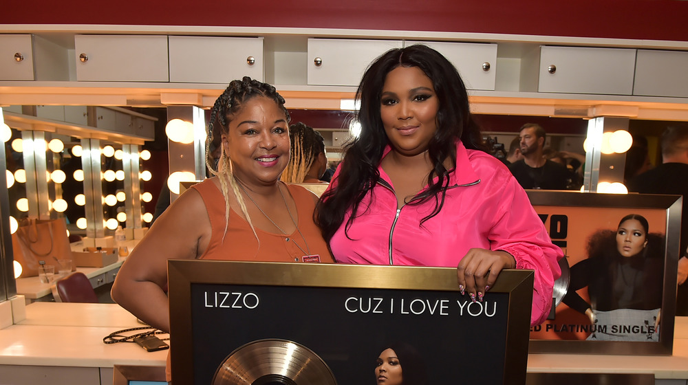 Lizzo shares clip of her mother receiving surprise Christmas present