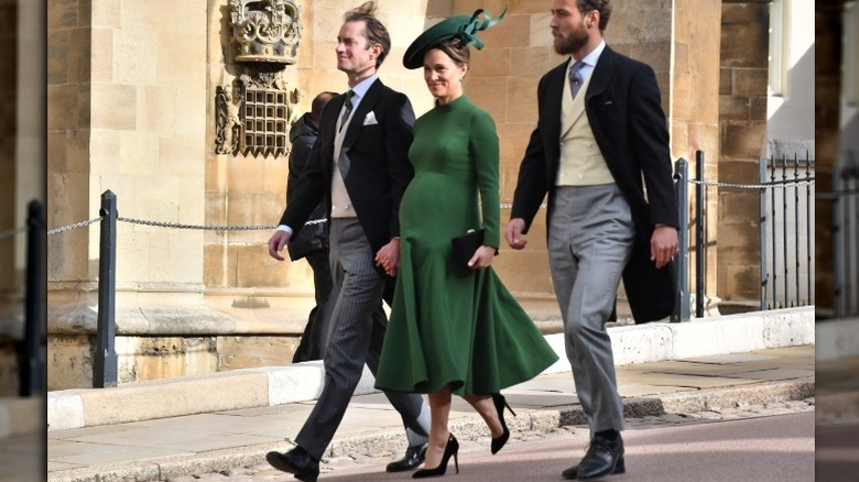 Pippa Middleton at Princess Eugenie's wedding