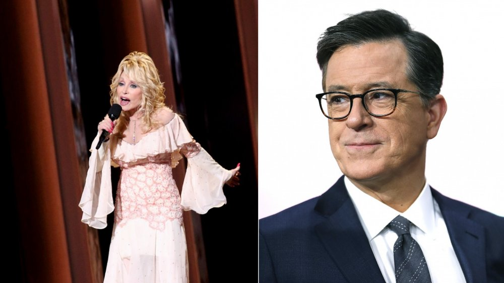 The Dolly Parton song that made Stephen Colbert cry on live TV
