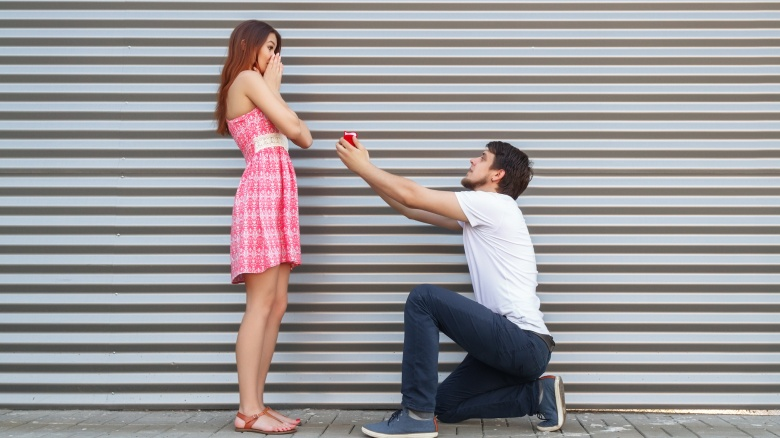 Why Men Historically Propose To Women