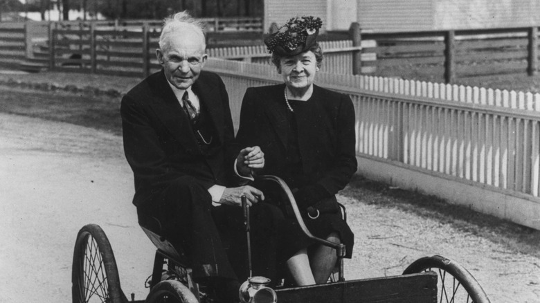 Henry and Clara Ford