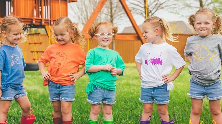 Busby quintuplets OutDaughtered