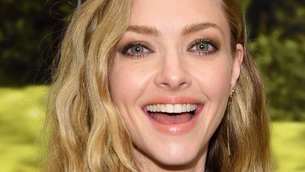 Amanda Seyfried laughing