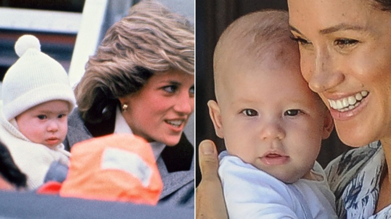 baby archie looks just like dad prince harry baby archie looks just like dad prince