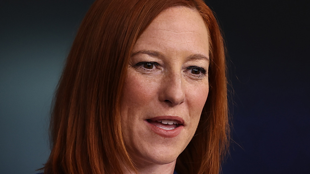 Jen Psaki during press briefing