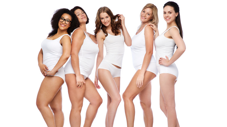 Attractive women of all sizes