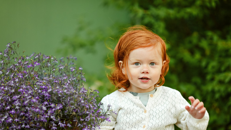 baby with red hair