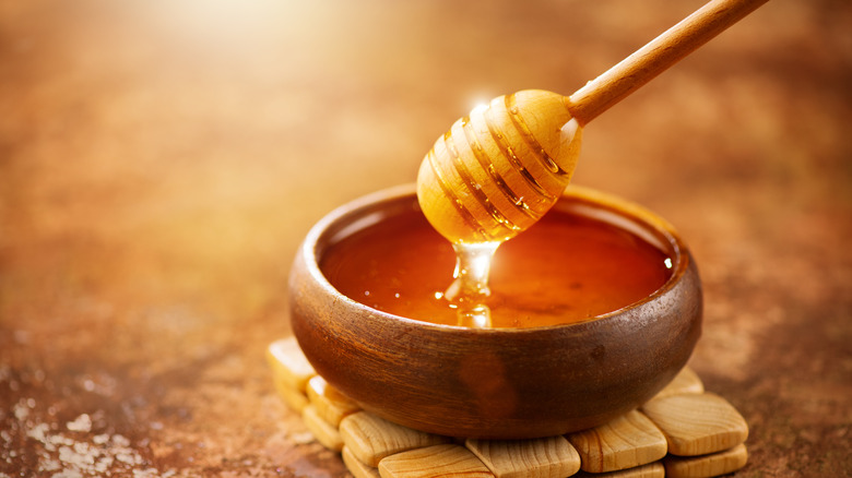 Honey, which has been linked to clearing up eczema