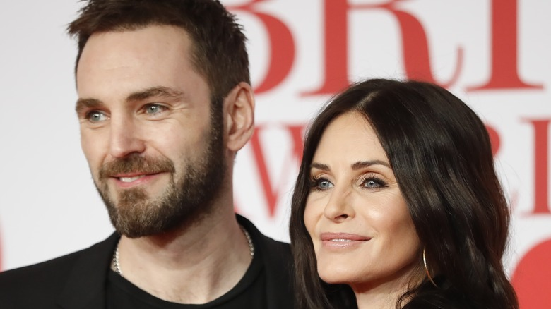 Courteney Cox and Johnny McDaid, 2018