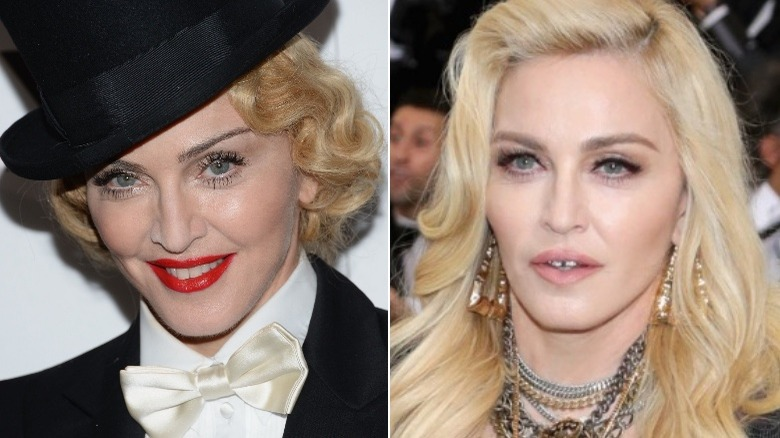 Madonna eyebrows 2013/2017