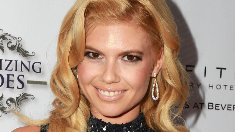 Chanel West Coast smiling red carpet