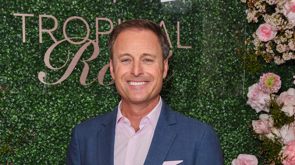 Bachelor host Chris Harrison at a Seagram's event