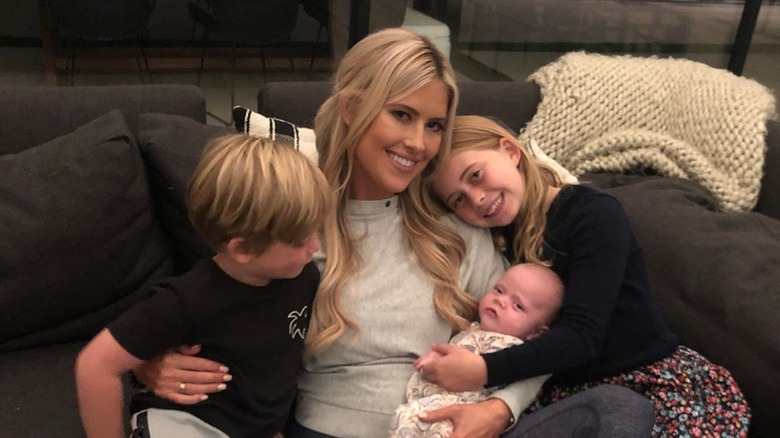 Christina Anstead and her family