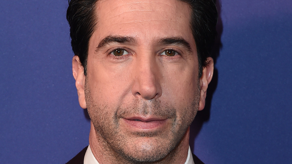 close up of David Schwimmer