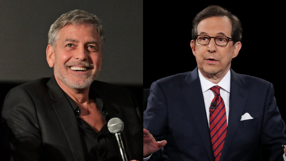 George Clooney and Chris Wallace