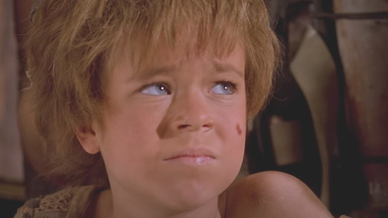 Tina Majorino as Enola in Waterworld
