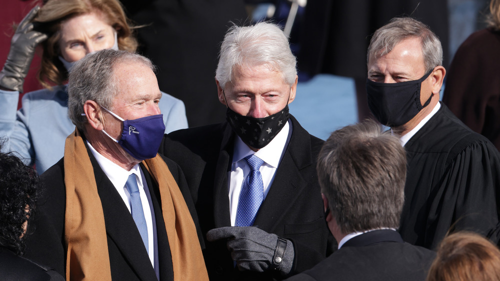 Bill Clinton at Inauguration Day