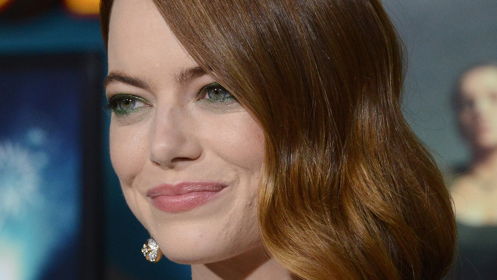 Emma Stone on red carpet