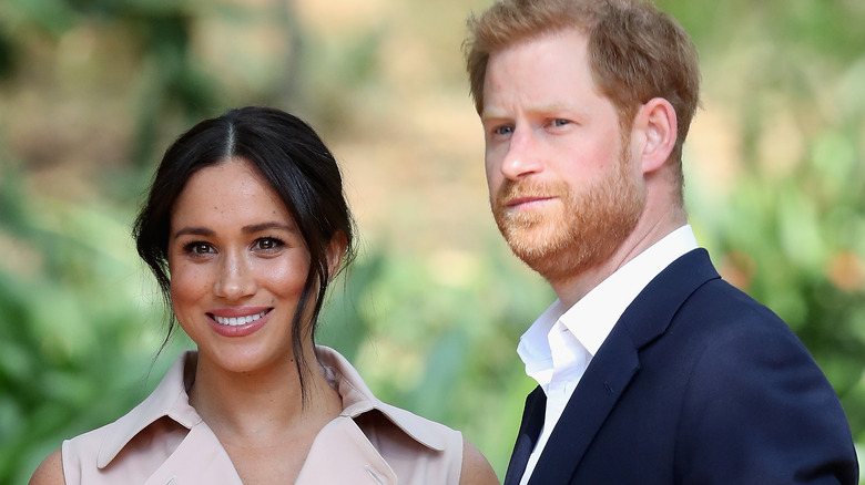 Prince Harry and Meghan Markle on their African tour