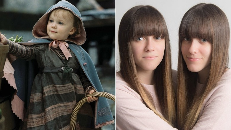 Baby Sunny Baudelaire, played by Kara and Shelby Hoffman