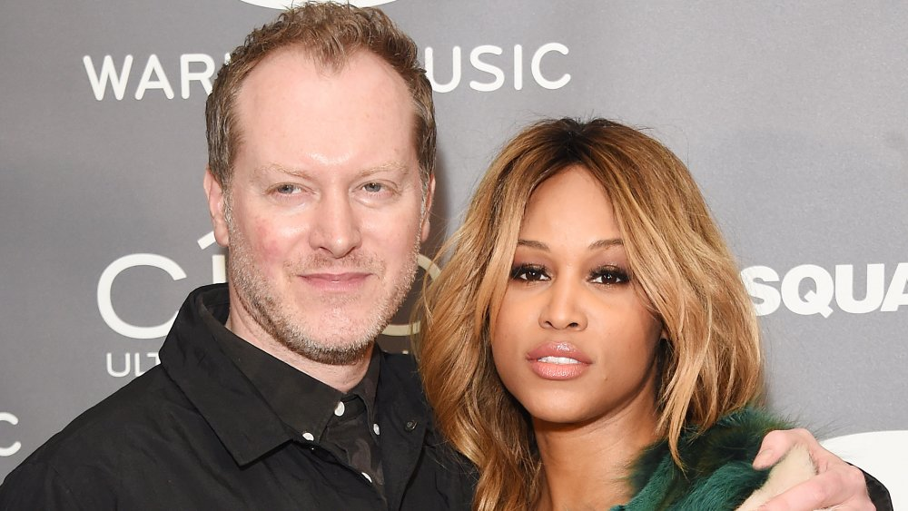 rapper Eve and her husband