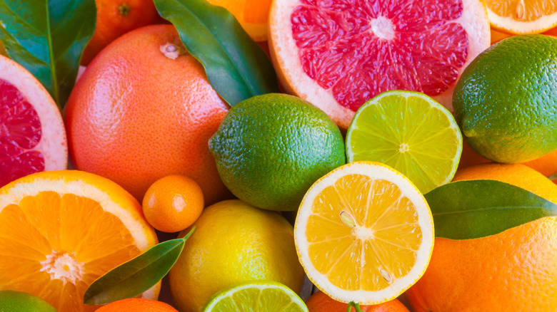 citrus fruits vitamin C