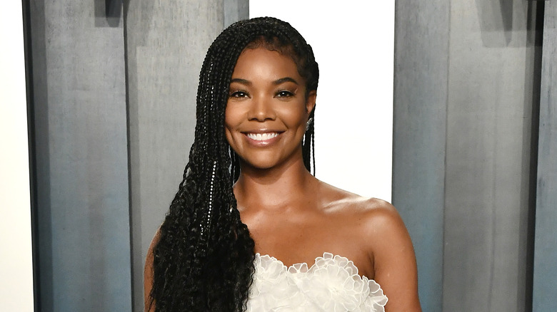 Gabrielle Union is stunning with her natural hair