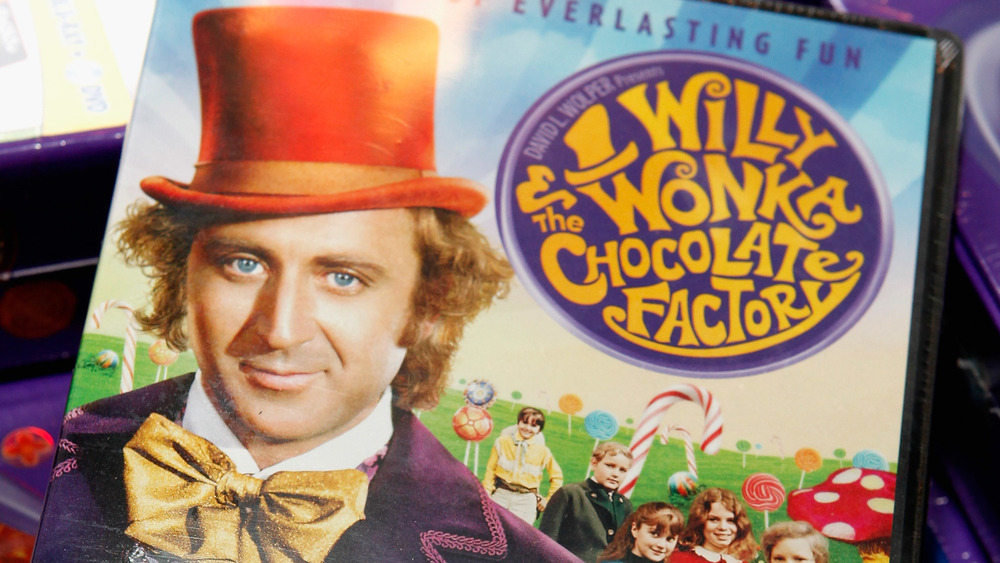 """The 40th anniversary DVD of """"Willy Wonka and the Chocolate Factory"""""""