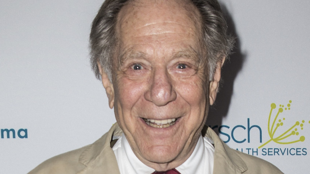 George Segal at a fundraiser