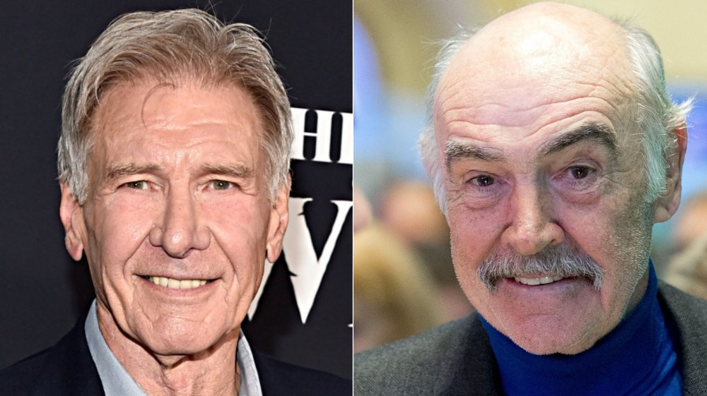 Harrison Ford and Sean Connery