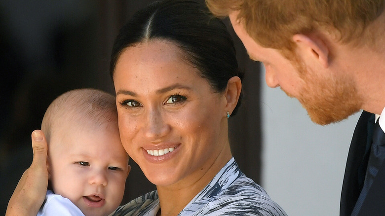 Meghan, Harry, and Archie