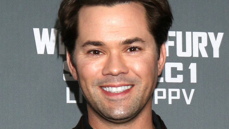 Andrew Rannells smiling