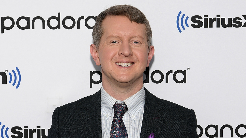 Ken Jennings poses at an event