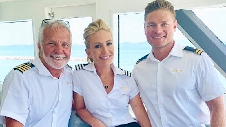 Below Deck star Captain Lee Rosbach, Kate Chastain, Ashton Pienaar