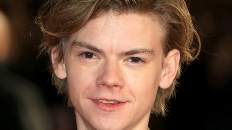 Thomas Brodie-Sangster smiling