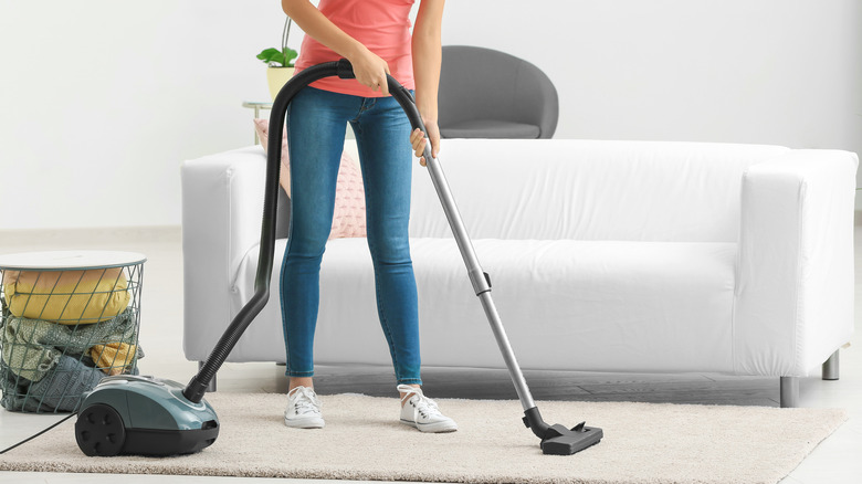 Here's how often you should vacuum your carpets