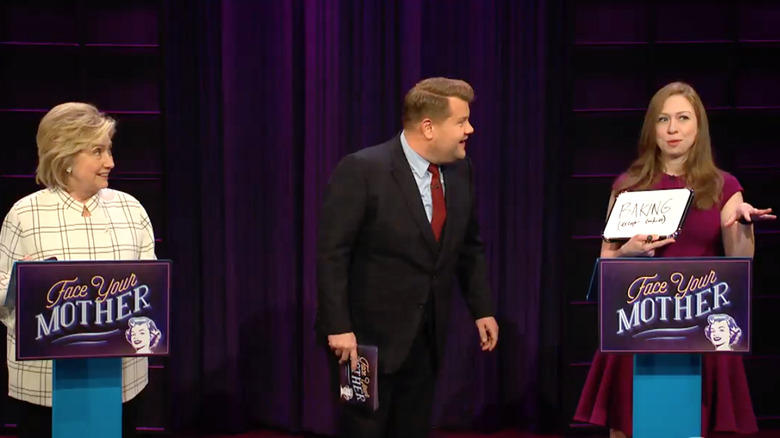 Chelsea Clinton, Late Late Show with James Corden
