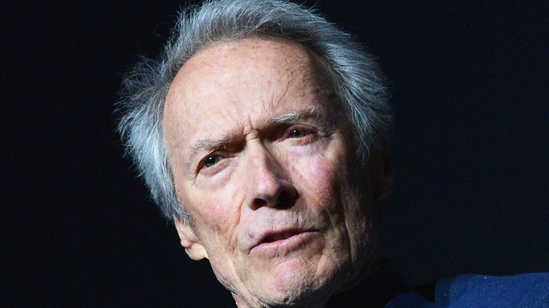 Clint Eastwood during an interview
