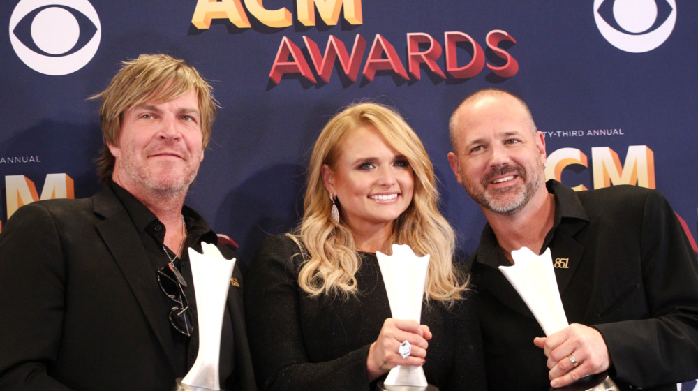 Miranda Lambert, Jack Ingram, Jon Randall at ACM awards