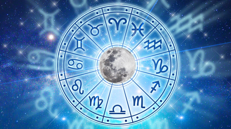 Astrology signs and the moon