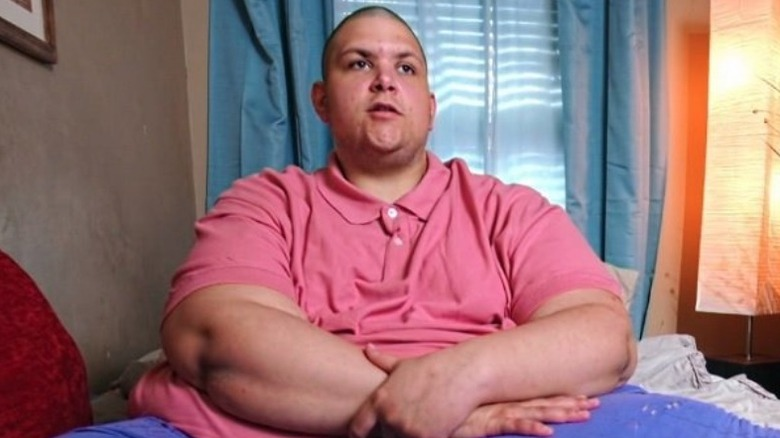 JT from my 600-Lb Life during filming