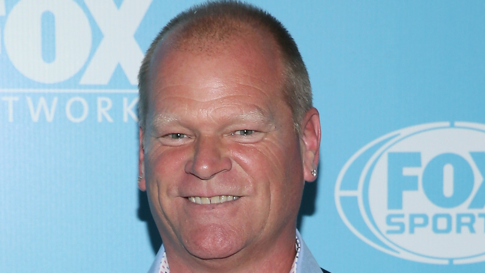 Mike Holmes smiling, close-up